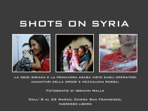 Shots on Syria
